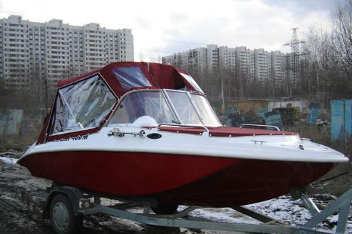 тюнинг катера катран-460м