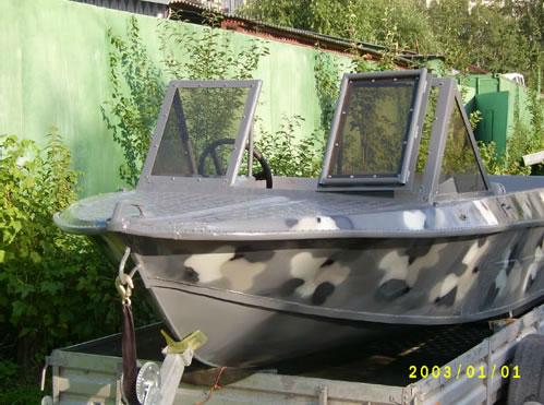 тюнинг катера крым